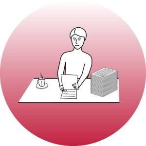 Работа с документами клиента в офисе АРХИВАРИУСЪ